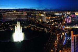 city, Las Vegas, Hotels, Fountain