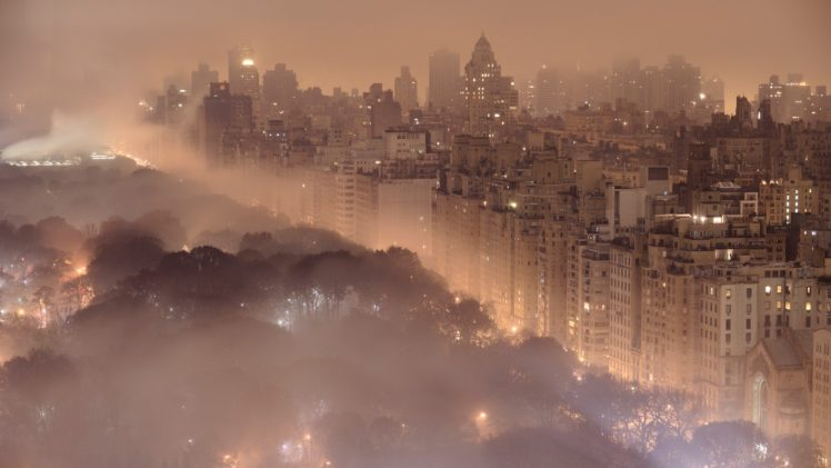 City Smog New York City Hd Wallpapers Desktop And Mobile Images