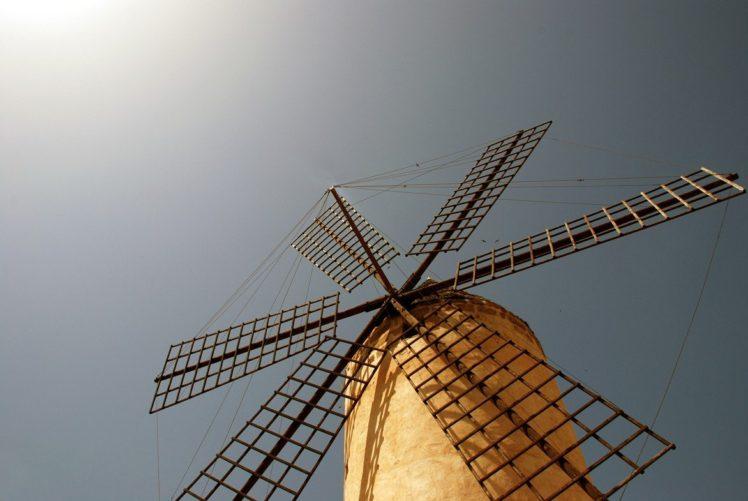 windmills HD Wallpaper Desktop Background