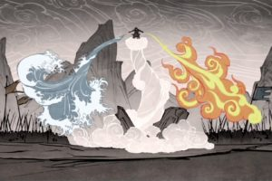 elements, The Legend of Korra, Wan (Legend of Korra), Four elements