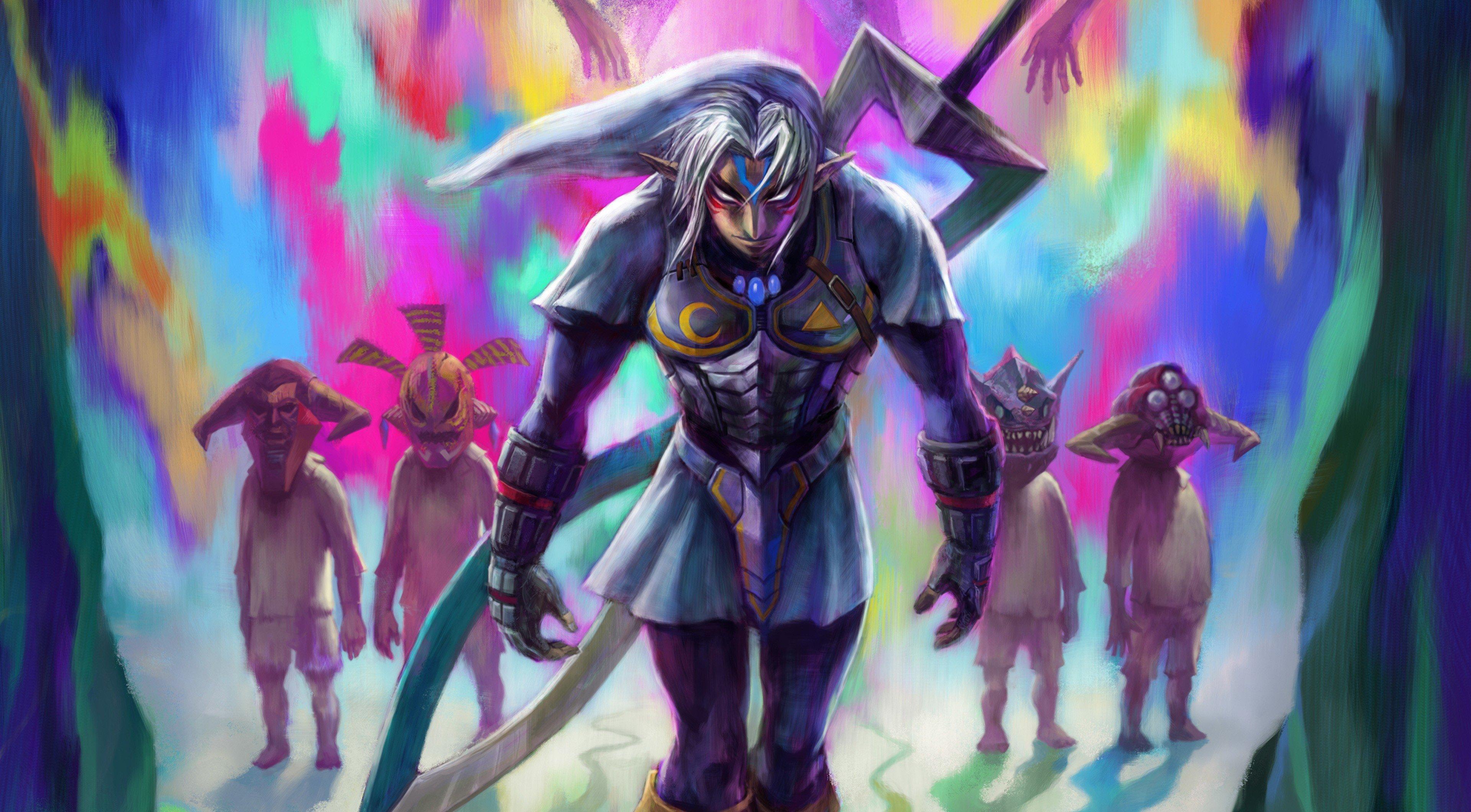 The Legend Of Zelda Majoras Mask Hd Wallpapers Desktop And