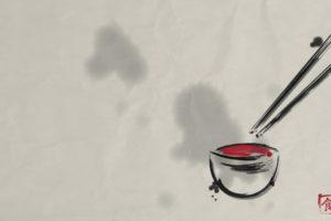 Japan, Drawing, Minimalism