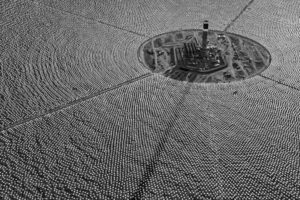 photography, Monochrome, Aerial view