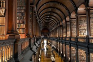 library, Books, Trinity College Library, Dublin, Shelves