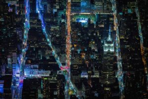 New York City, USA, City, Aerial view