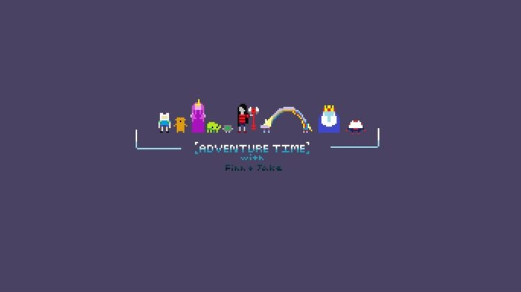 Adventure Time, 8 bit HD Wallpaper Desktop Background