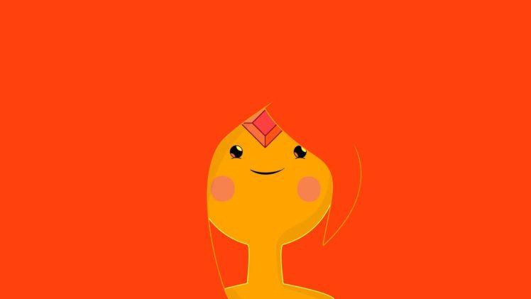 Adventure Time, Flame Princess, Minimalism HD Wallpaper Desktop Background