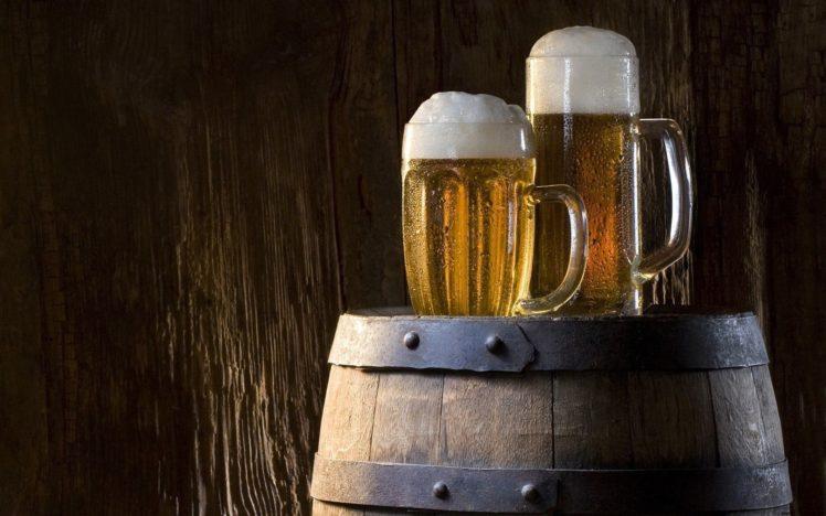 beer foam walls barrels wood drinking glass hd wallpapers