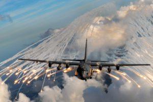 aircraft, Gunships, Lockheed C 130 Hercules