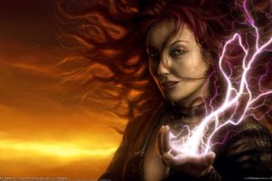 Magic: The Gathering, Magic, Redhead