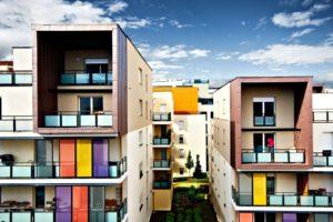 apartments, Balconies, Pac Man