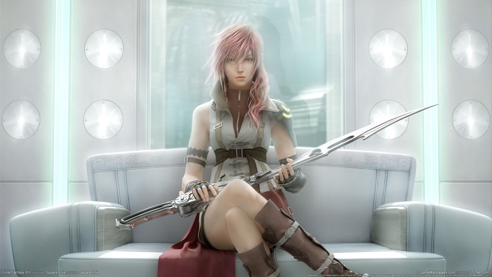 Final Fantasy Xiv Claire Farron Hd Wallpapers Desktop And