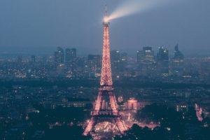 Eiffel Tower, Cityscape