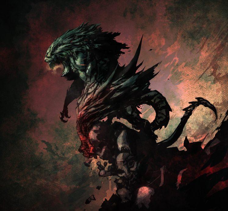 Castlevania: Lords of Shadow, Concept art HD Wallpaper Desktop Background