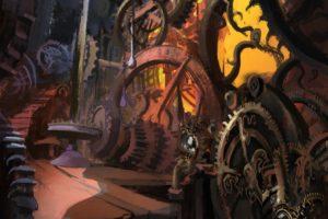 Castlevania: Lords of Shadow, Concept art, Gears, Clocktowers