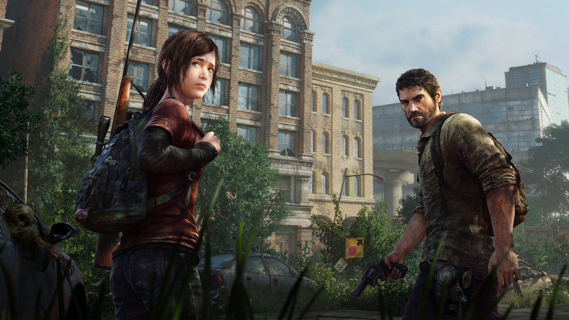 The Last Of Us Apocalyptic Joel Ellie Hd Wallpapers Desktop