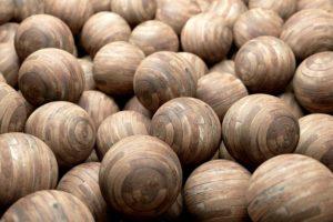 wood, Ball