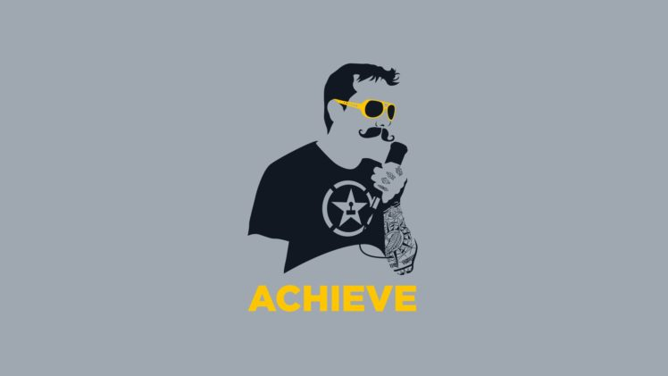 AH, Achievement Hunter, Achieve, Rooster Teeth HD Wallpapers
