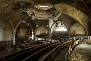 indoors, Abandoned, Urban exploration, Church, Building, Architecture