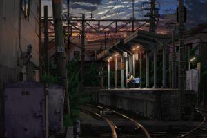 train station, Railway