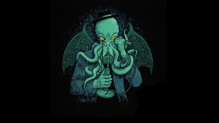 Cthulhu H P Lovecraft Hd Wallpapers Desktop And Mobile