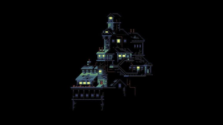 Pixel Art House Hd Wallpapers Desktop And Mobile Images Photos