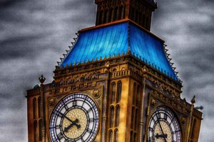 HDR, London, Big Ben, Clocktowers, Disney, Euro Disney