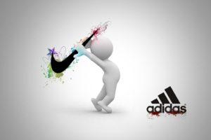 Adidas, White