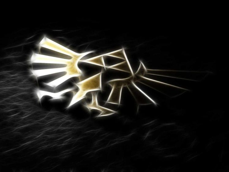 Black Gold The Legend Of Zelda Fractalius Hd Wallpapers Desktop