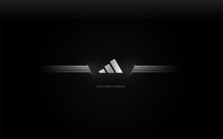 Adidas, Black HD Wallpaper Desktop Background