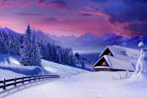 painting, Snow