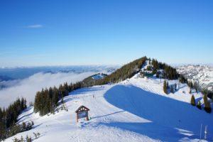 Seattle, Snow, Mountain