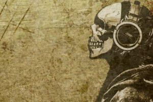 bones, Sound, Skull, Headphones