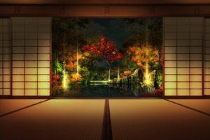 meditation, Japan, Room, Asian architecture