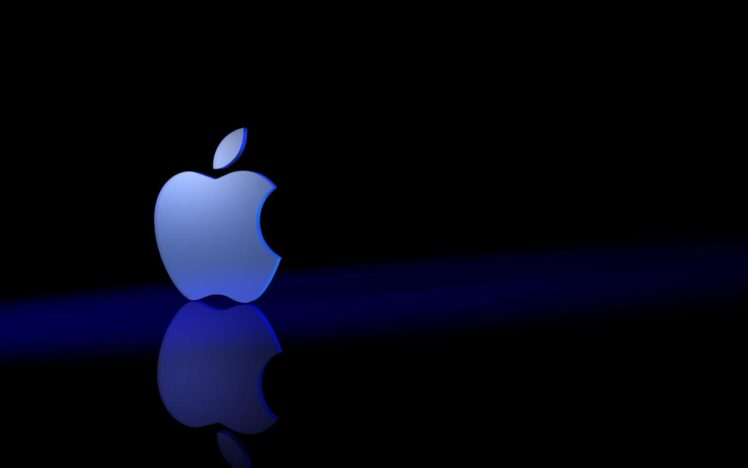 Apple Inc , Reflection, Logo HD Wallpapers / Desktop and