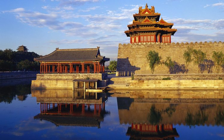 building, Architecture, China, Temple HD Wallpaper Desktop Background