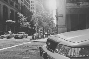 taxi, Street, Traffic, City
