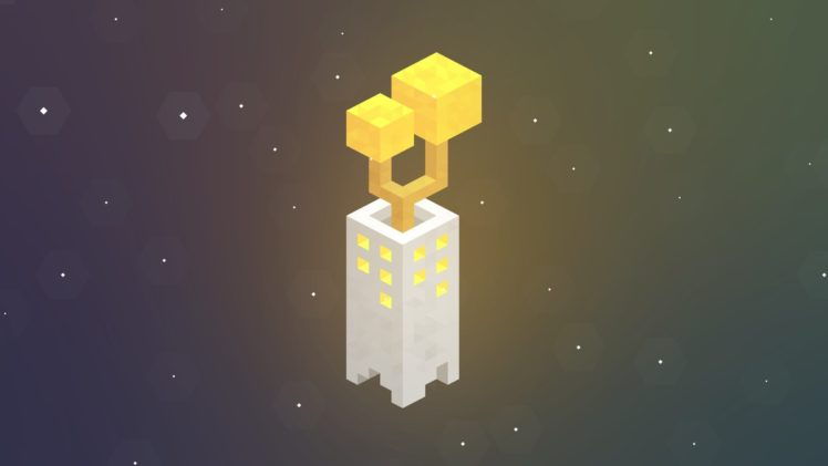 Low Poly Pixel Art Monument Valley Game Hd Wallpapers Desktop