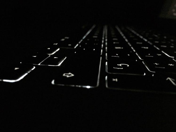 Dark Keyboards Macro Lights Hd Wallpapers Desktop And Mobile Images Photos