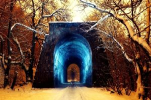 snow, Tunnel
