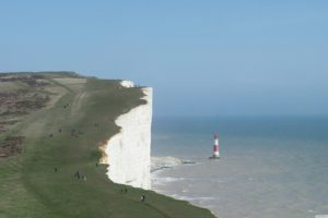 cliff, Lighthouse, Cliffs of Dover