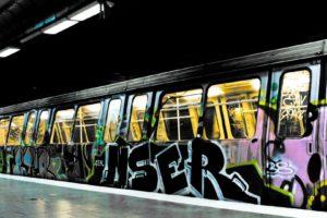 subway, Graffiti