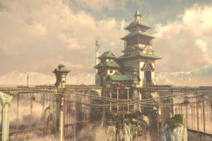 railway, Pagoda