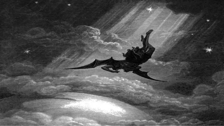 Fallen Angel, Lucifer HD Wallpaper Desktop Background