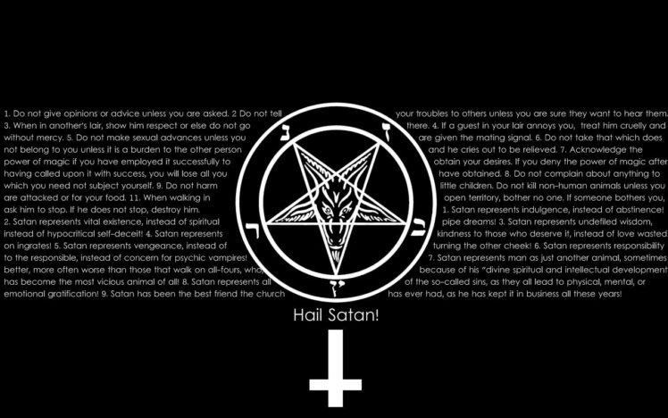 Satan, Satanism HD Wallpaper Desktop Background