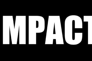 Impact (font), Black, White