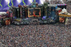 concerts, Music festival, Tomorrowland, Crowds