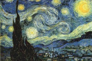 Vincent van Gogh, Painting, The Starry Night, Classic art