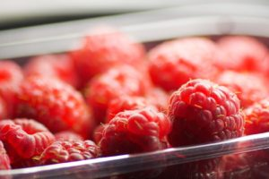 macro, Raspberries, Depth of field