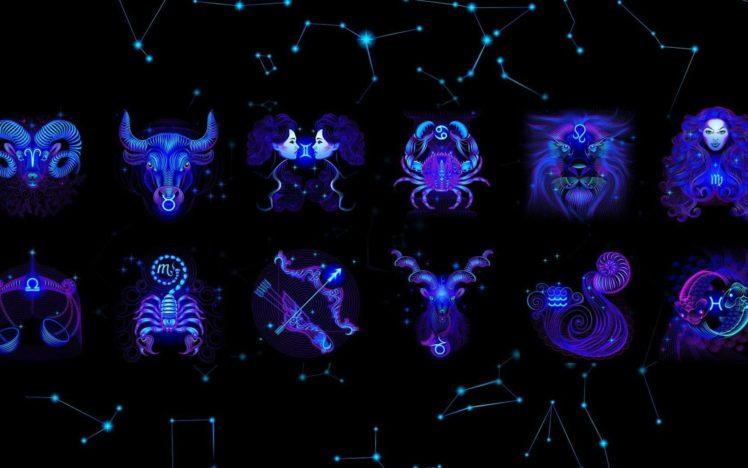 Zodiac, Libra, Scorpio HD Wallpaper Desktop Background